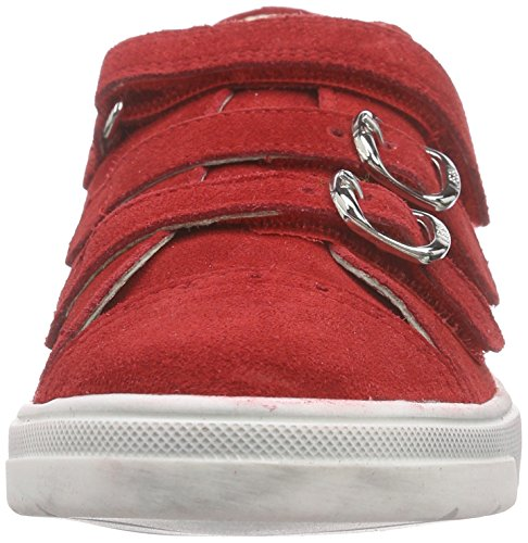 Lepi 3814lec Mädchen Low-Top Rot (3814 C.05 ROSSO)