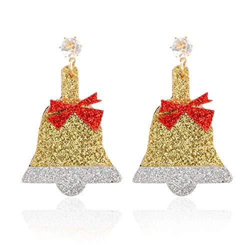 Hemore Lindos timbres Navidad Pendientes Stud aretes