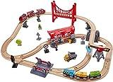 Hape E3730 Eisenbahn-Set Verkehrsreiche Stadt Eisenbahnwelt