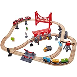 Hape Set Ferrovia Città Trafficata,, E3730
