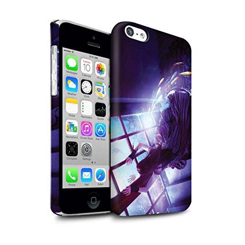 Officiel Elena Dudina Coque / Clipser Matte Etui pour Apple iPhone 5C / Sonrisas/Dauphin Design / Agua de Vida Collection Laisse Moi Entrer