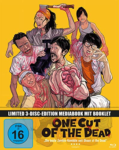 One Cut of the Dead - Mediabook  (+ 2 DVDs) [Blu-ray] Cut