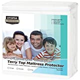 Utopia Bedding Protector de colchón Impermeable hipoalergénico Premium - Funda de colchón Equipada ...