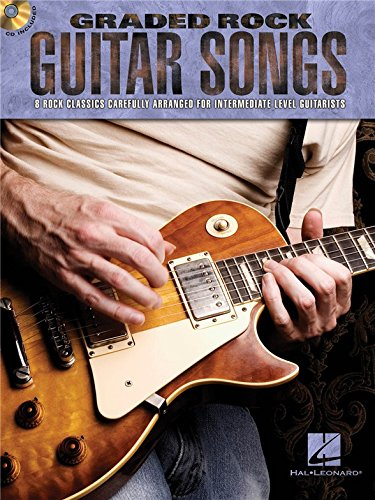 Graded Rock Guitar Songs. Partitions, CD pour Tablature Guitare, Guitare