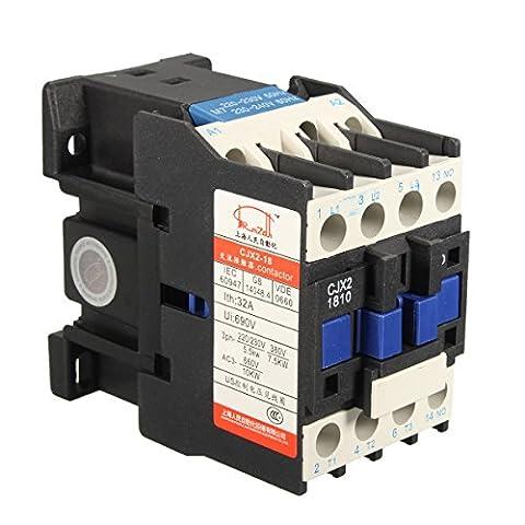 MASUNN AC Contactor AC220V Coil 32A 3-Phase 1NO 50/60Hz Motor