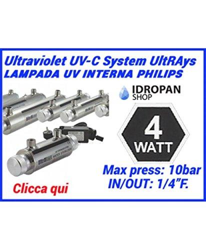 Esterilizador UV para agua