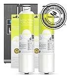 2x Seltino HAFCIN - kompatibler Wasserfilter für Samsung Kühlschränke