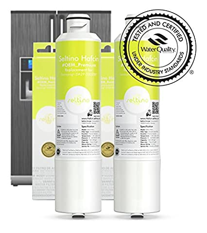 2 x Seltino HAFCIN Premium Water Filter - replacement for