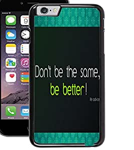 ColourCraft Inspirational Quote Design Back Case Cover for APPLE IPHONE 6S
