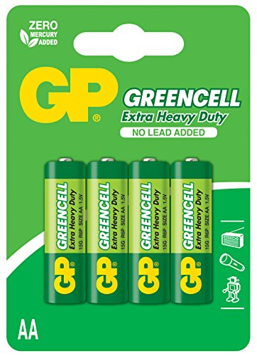 GP Greencell AA Mignon Batterie (4-er Pack)