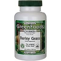 Swanson GreenFoods, Gerstengras 500mg, 240 Tabletten preisvergleich bei billige-tabletten.eu