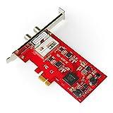 TBS 6281 SE DVB-T2/C Doppel-Tuner, PCIe Terrestrische oder Kabel-TV-Karte für TBS 6281 SE DVB-T2/C Doppel-Tuner, PCIe Terrestrische oder Kabel-TV-Karte