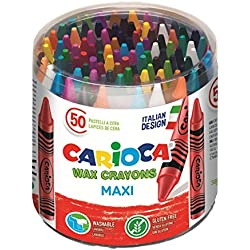 Carioca - Bote con 50 ceras (A36180050)