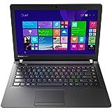 Lenovo IdeaPad 100 35,6 cm (14 Zoll HD) Notebook (Intel Celeron N2840 Dual-Core Prozessor, 2,6GHz, 2GB RAM, 250GB HDD, Intel HD Grafik, ohne Betriebssystem) schwarz