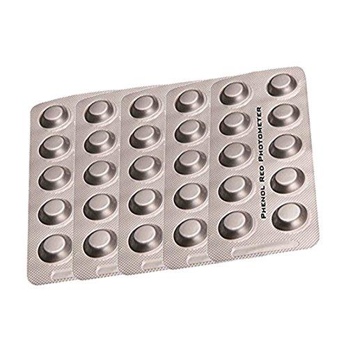 PoolLAB Testtabletten Phenol Red / ph-Wert Nachfüllpackung für elektronischen Poolwassertester-50