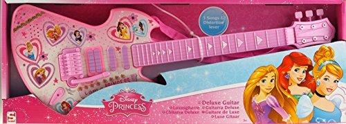 Disney Princess Deluxe Kinder Kinder Gitarre Musikinstrument Spielzeug