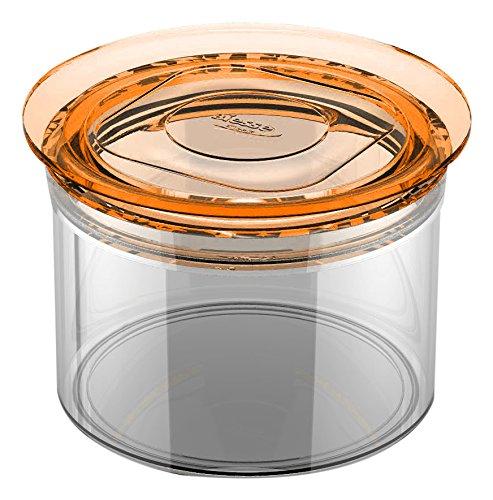 BIESSE CASA-P 550 ml 050/22-Contenitore ermetico rotondo salvafreschezza con guarnizione in silicone