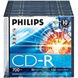 Philips CD-R - CD-RW vírgenes (CD-Recordable)