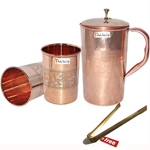 artesania-india-prisha-r-jarra-de-cobre-puro-de-mejor-calidad-handmade-jarra-1600-ml-5410-oz-con-dos
