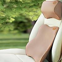 Ufficio auto applicabile per quattro stagioni memoria poggiatesta cuscino di sostegno cusion collo Imposta colore facoltativo , coffee color
