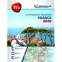 France 2019 - PB Tourist & Motoring Atlas: Tourist & Motoring Atlas A4 spiral (Michelin Road Atlases)
