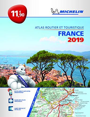 Atlas Routier et Touristique France Michelin 2019