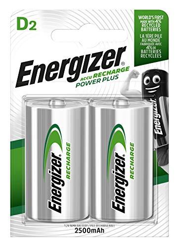 Energizer Akkus D, Recharge Power Plus, 2 Stück -