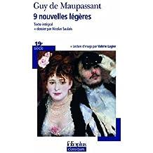 9 nouvelles légères by Guy de Maupassant (2013-09-12)