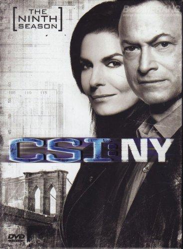 CSI New York Season 9 - The Final Season (DVD Box Set 5 Disc)