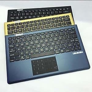 ZAP-CWBT-31 V1 Win8 Bluetooth clavier chiclet avec Multi-Touch Pad , Noir