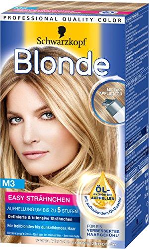 Blonde M3 Easy Strähnchen, 3er Pack (3 x 117 ml)