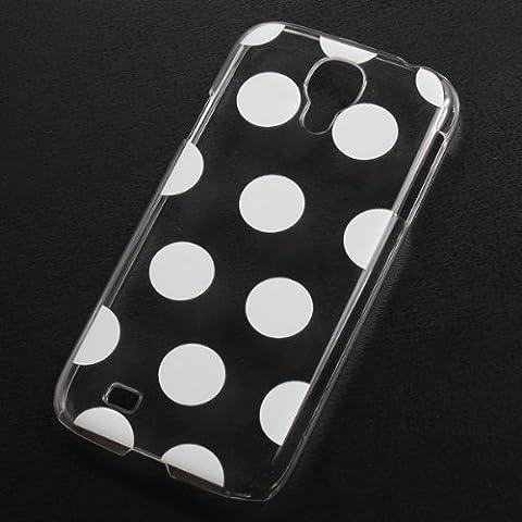 Plástico Dots Diseño De nuevo estuche protector para Samsung Galaxy S4 i9500.