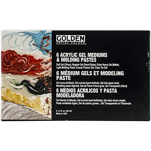 golden-introductory-acrylic-gel-mediums-and-molding-paste-set