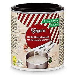 Veganz BIO Helle Grundsauce ✔ Vegane Basis Sauce für Feinschmecker Saucen Rezepte ✔ Soße Vegan Hell 6 x 140g