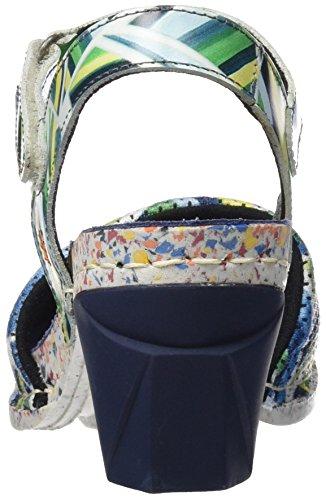 Art 1120 Fantasy I Enjoy, Sandales À Bride Cheville Multicolore Pour Femme (rayures)