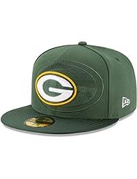 A NEW ERA Era NFL Sideline 59Fifty Grepac OTC Gorra Línea Green Bay Packers  de Tenis 2d67e3015f7