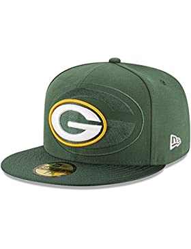 New Era Nfl Sideline 59Fifty Grepac Otc - Cappello Linea Green Bay Packers da Uomo, colore Verde, taglia 7 0/0