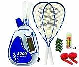 Speedminton® Set S200 im Back Pack, (incl. Easycourt)
