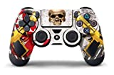 247Skins PS4 Controller Designer Skin DualShock Wireless Controller Ghost Ops