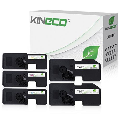 Preisvergleich Produktbild 5 Kineco Toner kompatibel zu Kyocera TK-5240 für Kyocera Ecosys M-5526cdn M-5526cdw P-5026cdn P-5026cdw