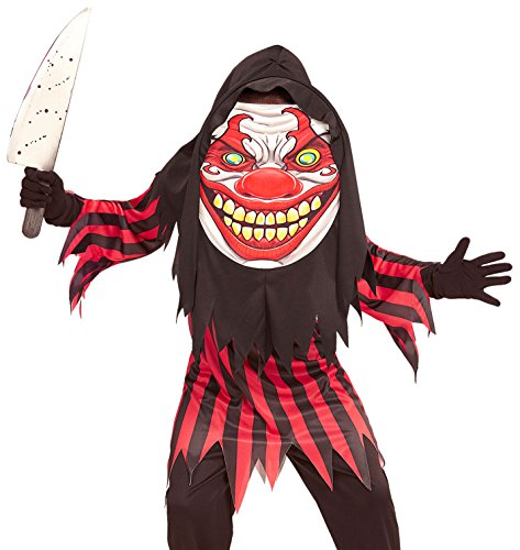 HORROR CLOWN BIG HEAD 158cm FOR HALLOWEEN FANCY DRESS - Halloween-payaso De Disfraces