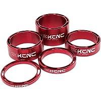Kit 5 Separadores Dirección KCNC Rojo