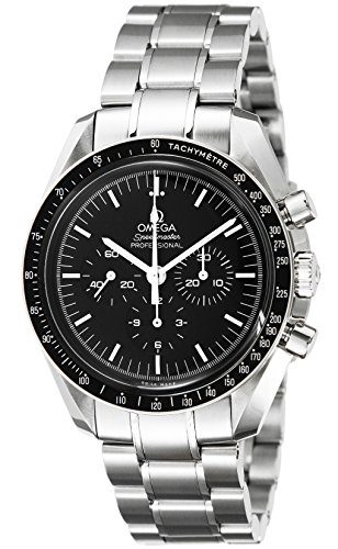 OMEGA Men's Steel Bracelet & Case Automatic Black Dial Analog Watch 311.30.42.30.01.005