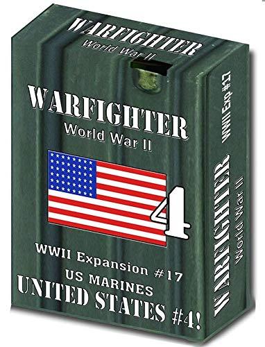 Spiel United States Marine (DVG: Warfighter WW2 - Expansion #17 United States 4 (US Marines))