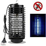 Unicoco Lampe anti-moustiques électrique Répulsif pour insectes, mouches pour la maison, le balcon le jardin Noir 220V