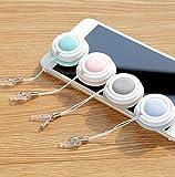 OVVO Creative Telefon Screen Cleaner Bildschirm Reinigungs Pad für Computer Handy Schlüssel Ring Dekoration