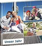 CEWE FOTOBUCH Jahrbuch 30x30cm, Hardcover, mit Ihren Fotos Zum Selbstgestalten