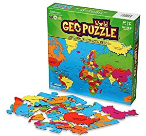 Geotoys 10610 Geopuzzle Mondo