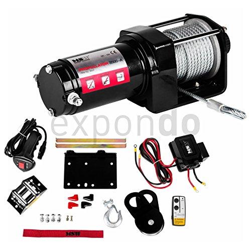 MSW MOTOR TECHNICS - PROPPULATOR 3500-A - 3 500 LBS -1 587 KG - 12V - ENVIO GRATUITO