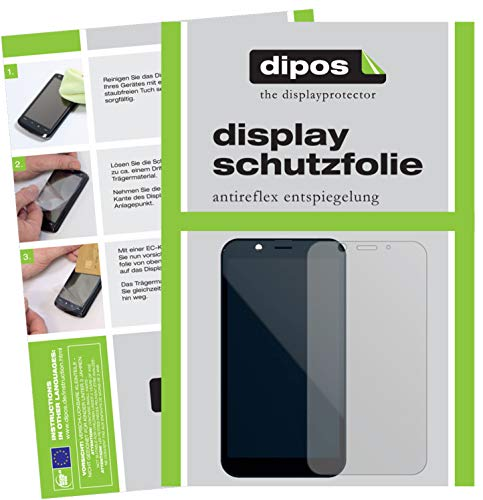 dipos I 2X Schutzfolie matt passend für Shift Shift6m Folie Bildschirmschutzfolie